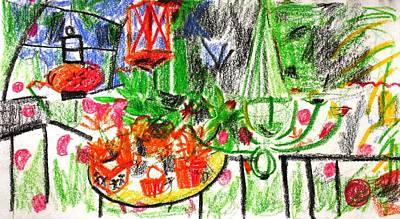 Painting - Garden Gala by Anita Dale Livaditis