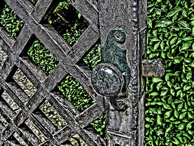 Photograph - Garden Gate by Douglas Pike