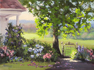Painting - Garden Gate by Karen Ilari