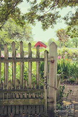 Garden Gate Print by Margie Hurwich