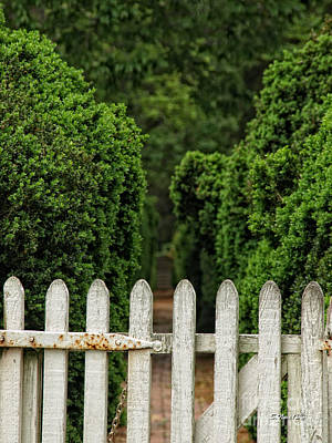 Photograph - Garden Gate by Shari Nees
