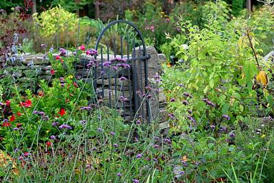 Photograph - Garden Gate To Autumn by Living Color Photography Lorraine Lynch