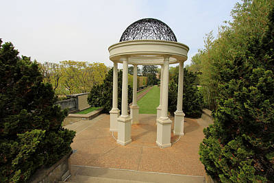 Photograph - Garden Gazebo by Trina  Ansel