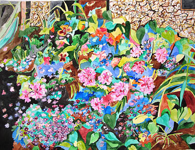 Painting - Garden Glory by Esther Newman-Cohen