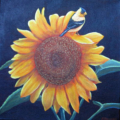 Painting - Garden Gold by Fran Brooks