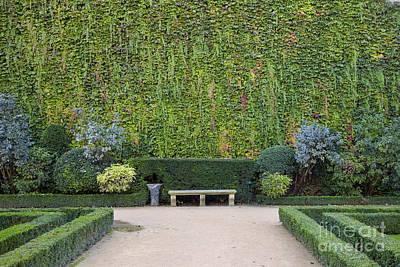 Sully Photograph - Garden - Hotel De Sully by Brian Jannsen