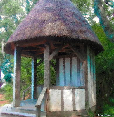 Wooden Photograph - Garden Hut by Cathy Lindsey