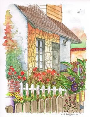Garden In A Venice Beach House - California Original by Carlos G Groppa