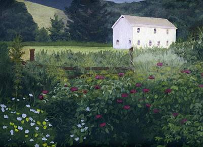 Painting - Garden In The Back by Lynne Reichhart