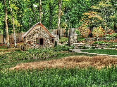 Photograph - Garden In The Woods by Pamela Parton