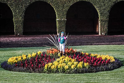 Digital Art - Garden Jockey by Photographic Art by Russel Ray Photos