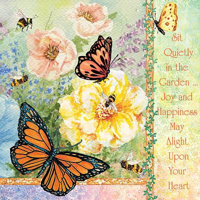 Garden Joy Art Print
