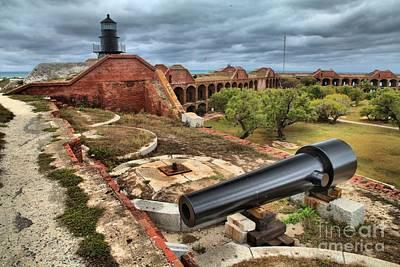Jefferson Island Photograph - Garden Key Light Defense by Adam Jewell