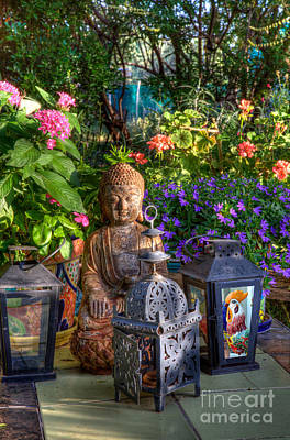 Photograph - Garden Meditation by Charlene Mitchell