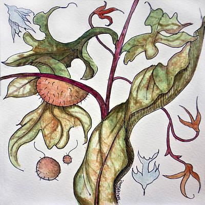 Painting - Garden Of Adam by Ken Ketchum