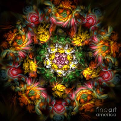 Digital Art - Garden Of Dreams by Olga Hamilton