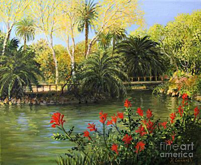 Painting - Garden Of Eden by Kiril Stanchev