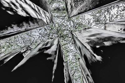 Garden Of Exile Art Print by Peter Benkmann