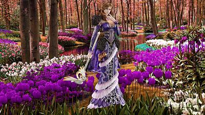 Garden Mixed Media - Garden Of Love by Marvin Blaine