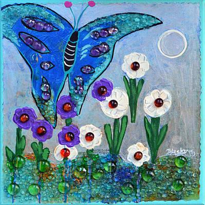 Garden Of The Full Moon Art Print