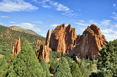 Photograph - Garden Of The Gods 2 by Cheryl Davis