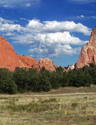 Featured Images Digital Art - Garden Of The Gods 2 by Chris Flees