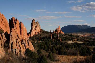Colorado Springs Photograph - Garden Of The Gods 2 by Marcelo Albuquerque