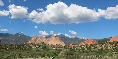 Photograph - Garden Of The Gods  by Christy Pooschke