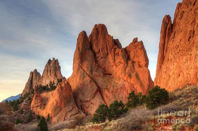 Photograph - Garden Of The Gods Colorado by Bob Christopher