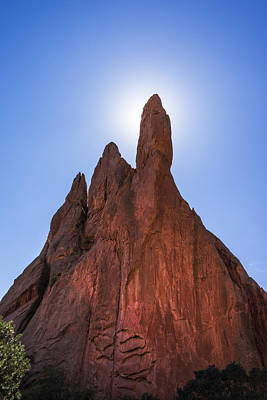 Garden Of The Gods Photograph - Garden Of The Gods - Colorado Springs by Brian Harig