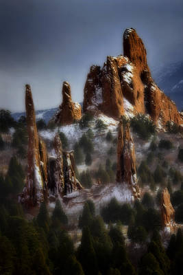 Photograph - Garden Of The Gods by Ellen Heaverlo