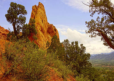 Photograph - Garden Of The Gods Five by Ann Powell