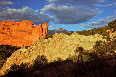 Photograph - Garden Of The Gods by Gene Sherrill