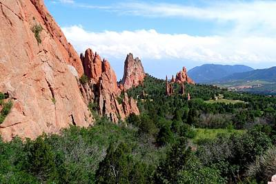 Photograph - Garden Of The Gods by Marilyn Burton