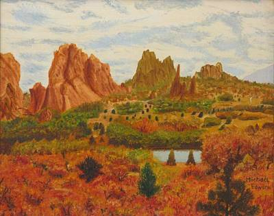 Painting - Garden Of The Gods by Michael Anthony Edwards