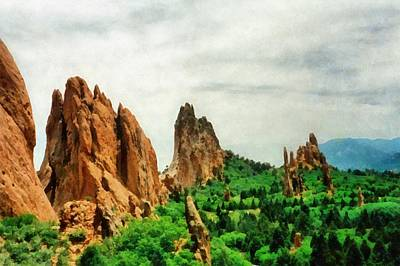 Photograph - Garden Of The Gods by Michelle Calkins