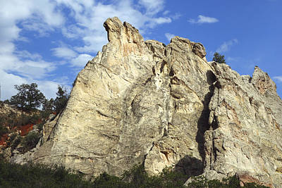 Photograph - Garden Of The Gods Three - Landscape - Photography by Ann Powell
