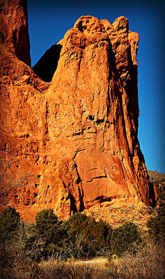 Garden Of The Gods -- Tower Of Babel Art Print by Stephen Stookey