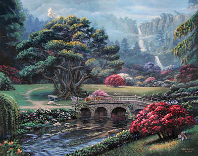 Garden Of The Spirit Original by Mike Roberts