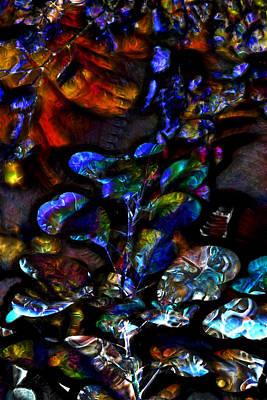 Unconscious Digital Art - Garden Of The Unconscious by Richard Thomas