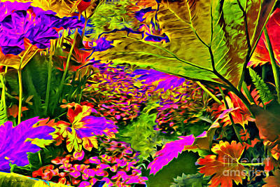 Photograph - Garden Of Color by Beauty For God