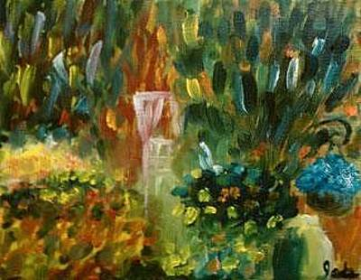 Painting - Garden On 11th Street by Steve Jorde