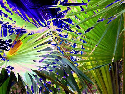 Garden Palms Art Print