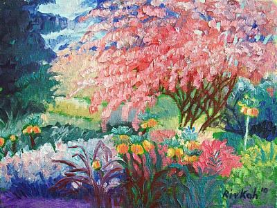 Painting - Garden Paradise by Rivkah Singh