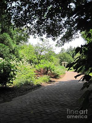 Nature Photograph - Garden Path 2 by Megan Cohen