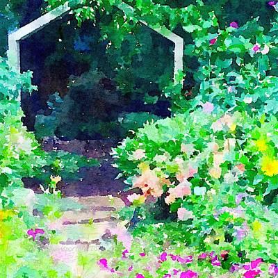 Pathway Photograph - Garden Path by Anna Porter