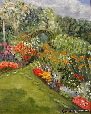Painting - Garden Path by Calliope Thomas
