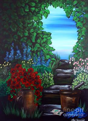 Painting - Garden Path by Dani Abbott