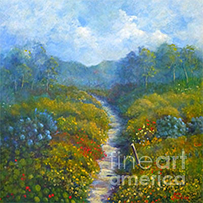 Painting - Garden Path by Julia Blackler
