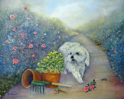 Painting - Garden Path by Loretta Luglio